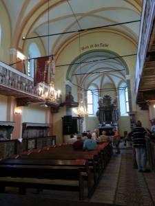 biserica evanghelica Cisnadioara 1