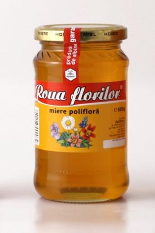Miere poliflora Roua Florilor Apidava (500 g)